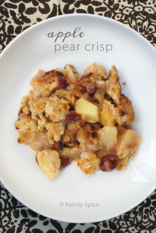 Apple Pear Crisp - Family Spice