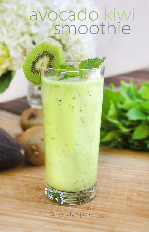 Avocado Kiwi Smoothie