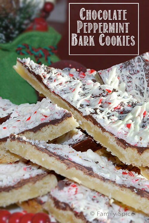 chocolate peppermint bark cookies holiday bark isn t just for ...