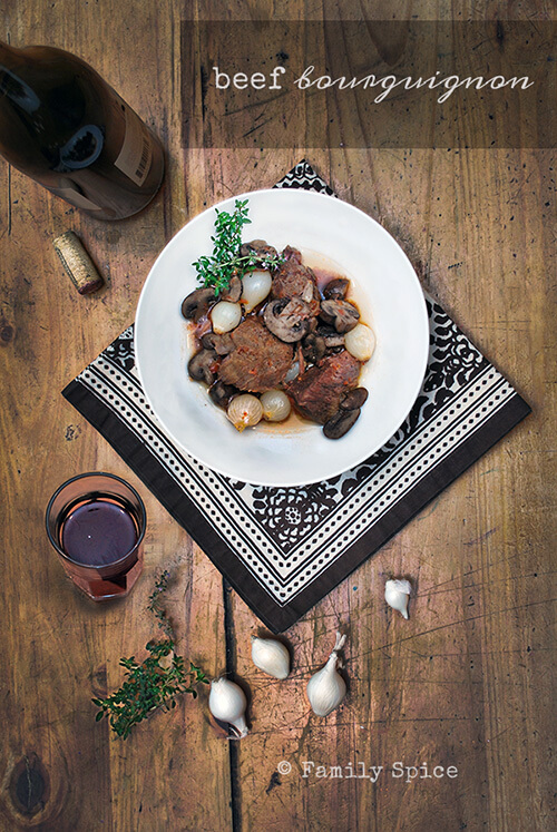 Easy Holiday Roast Recipes: Beef Bourgeonion