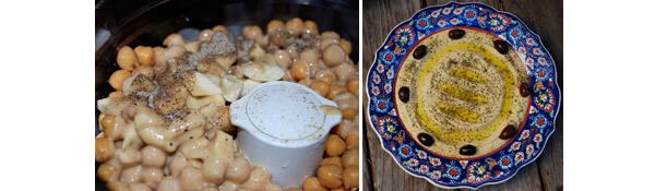 Garlic Lovers Hummus Detail