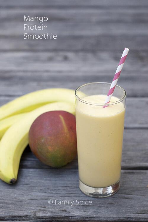 Mango Protein Shake - Family Spice