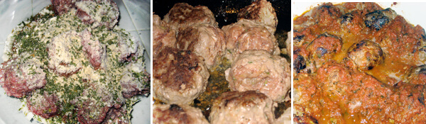 Gluten-Free Italian Meatballs Detail