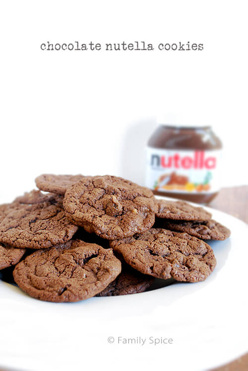 chocolate nutella cookies nutella in a cookie yeah you know these are ...
