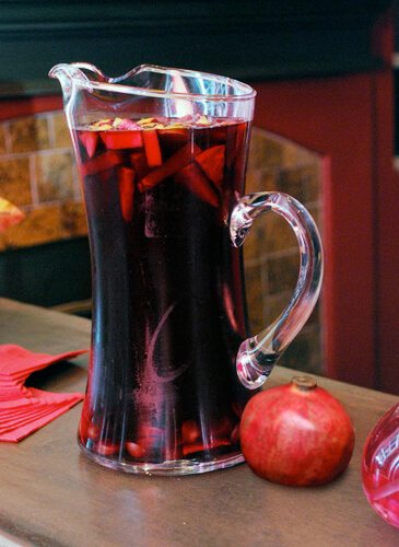 Pomegranate Sangria by Family Spice
