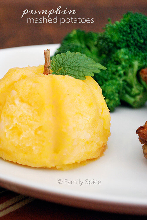Pumpkin Mashed Potatoes - Family Spice