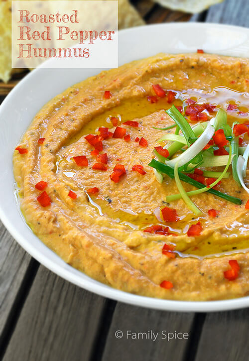 red pepper hummus this fabulous hummus has the flavor of roasted bell ...