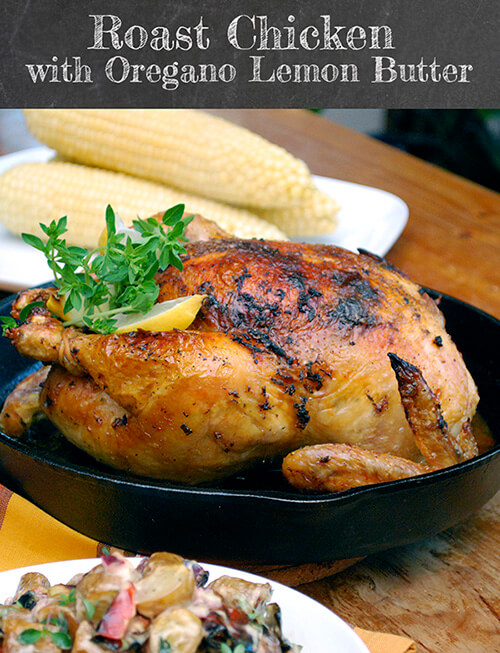 Roasted Greek Chicken And Potatoes In Lemon-Oregano ...