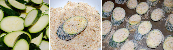 Zucchini Parmesan Crisps Detail