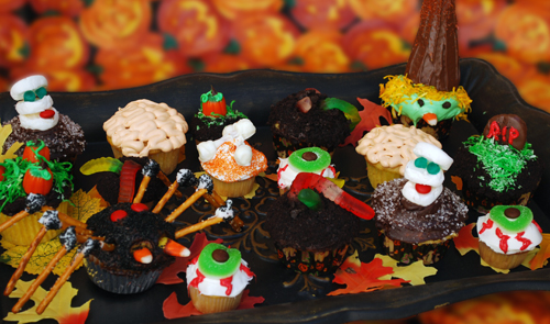 Halloween Cupcakes from Family Spice