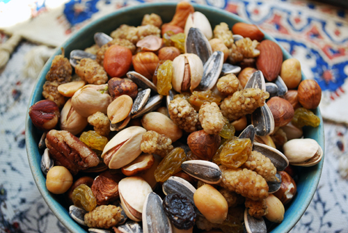 Ajeel (Persian Trail Mix) and Chahr-Shambeh Souri by FamilySpice.com