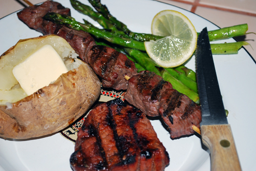 Grilled Elk & Deer by FamilySpice.com