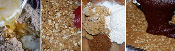 How to Make Espresso Spiked Oatmeal Fudge Bar by FamilySpice.com