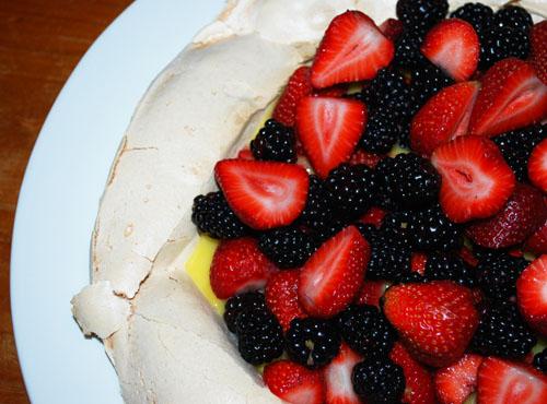 Pavlova recipe cranberry