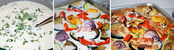 This Roasted Mediterranean Vegetable Tart is bursting with your favorite Mediterranean vegetables is perfect to serve for brunch or as an appetizer. -- FamilySpice.com