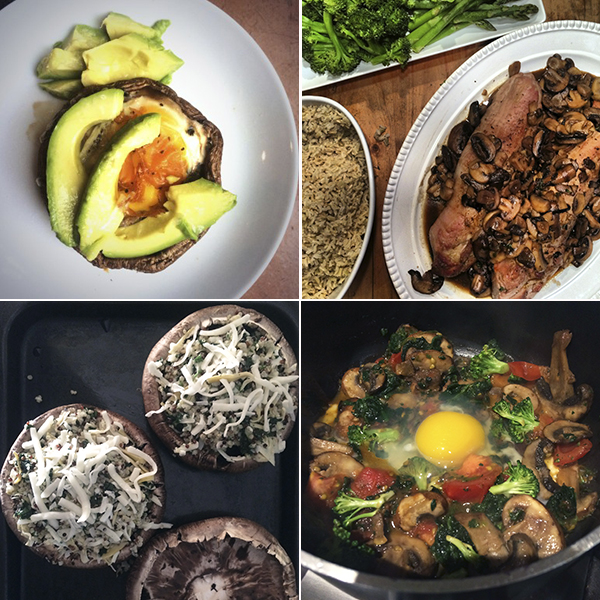Mushroom Makeover Meals by FamilySpice.com