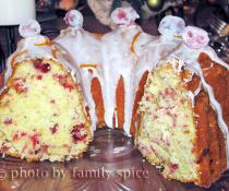 Orange Cranberry Cake by FamilySpice.com