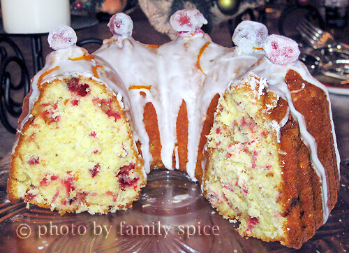 Orange Cranberry Cake by FamilySpice.com
