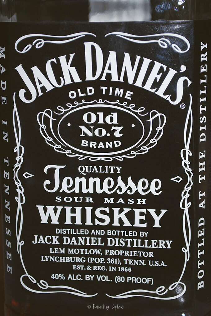 Jack Daniels Whiskey for Whiskey Tri-Tip Roast by FamilySpice.com