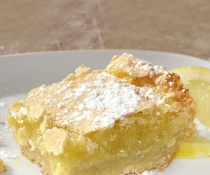 Decadent and Easy Lemon Bars by FamilySpice.com