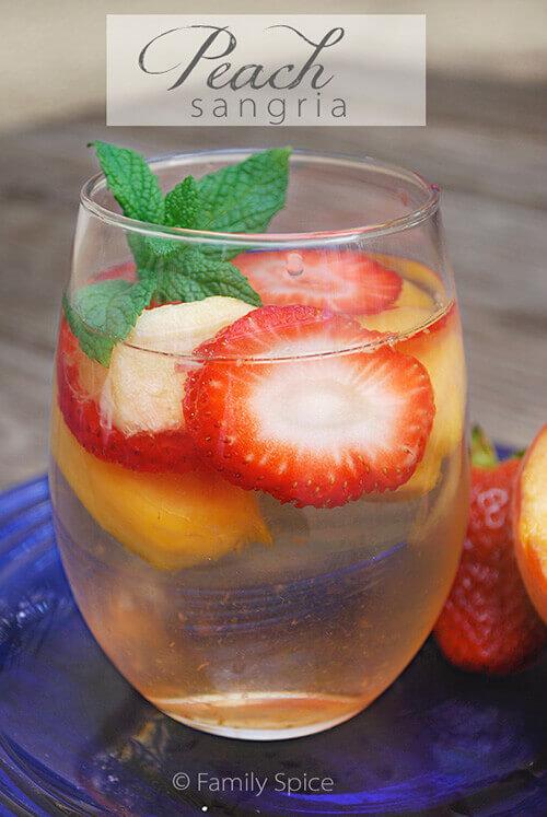 Strawberry & Peach Sangria
