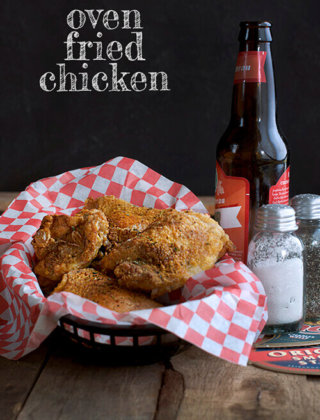Oven Fried Chicken by FamilySpice.com