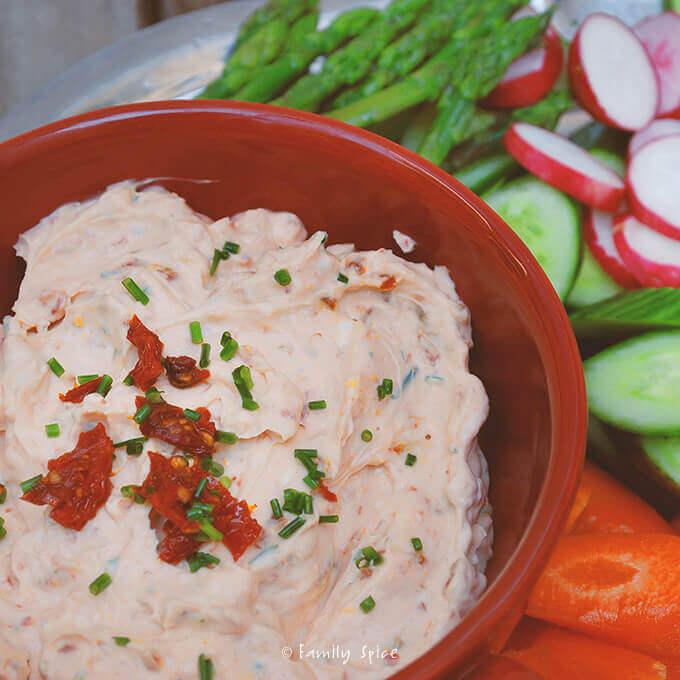 Sun Dried Tomato Dip by FamilySpice.com