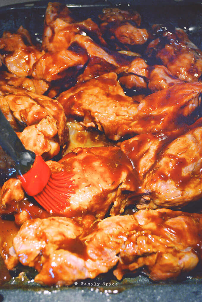 Ready to Bake Barbecue Pork Country Style Ribs - Without the Grill! by FamilySpice.com
