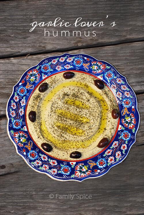 Garlic Hummus (Garlic LOVER'S Hummus)