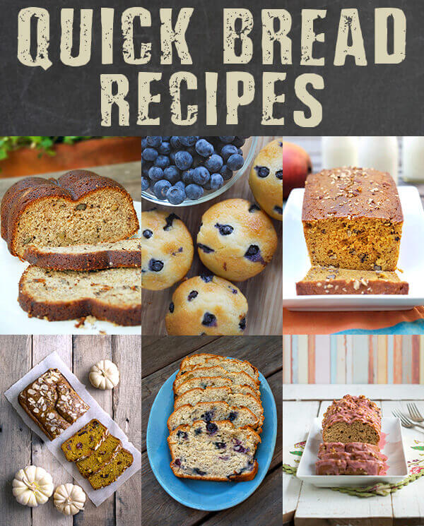 Quick Bread and Muffin Recipes to Start Your Morning Right -- by FamilySpice.com
