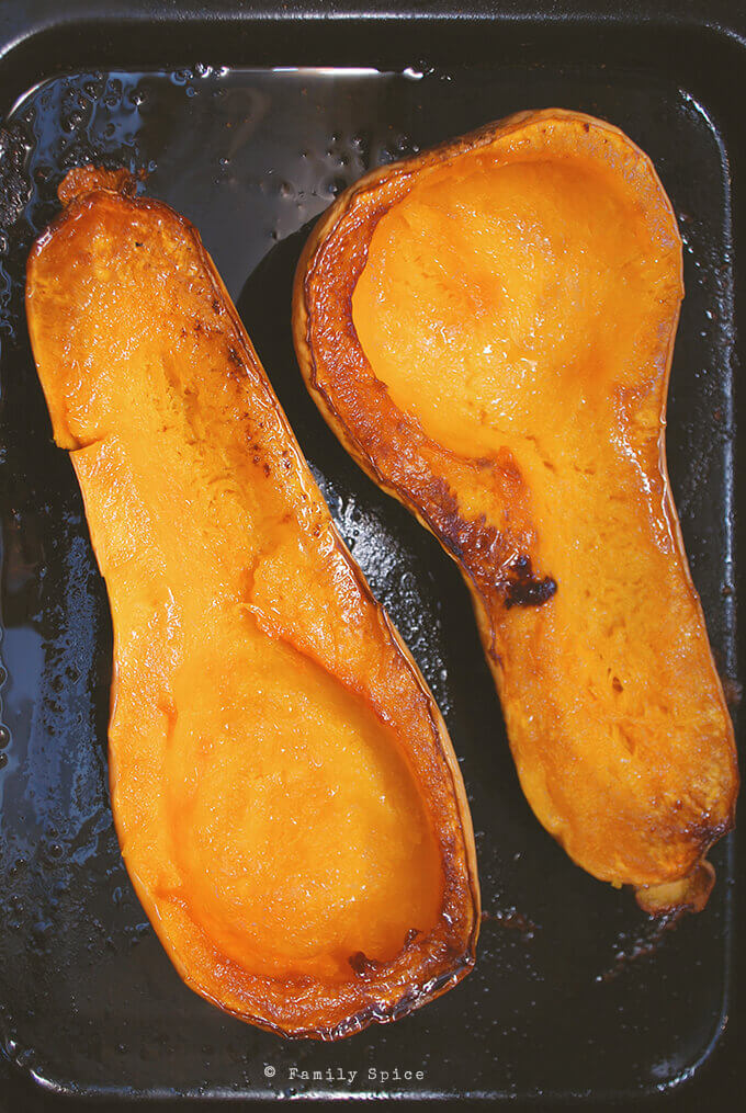 Oven Roasted Butternut Squash by FamilySpice.com