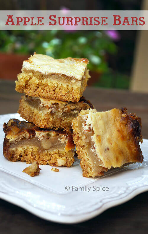 Apple Surprise Bars by FamilySpice.com