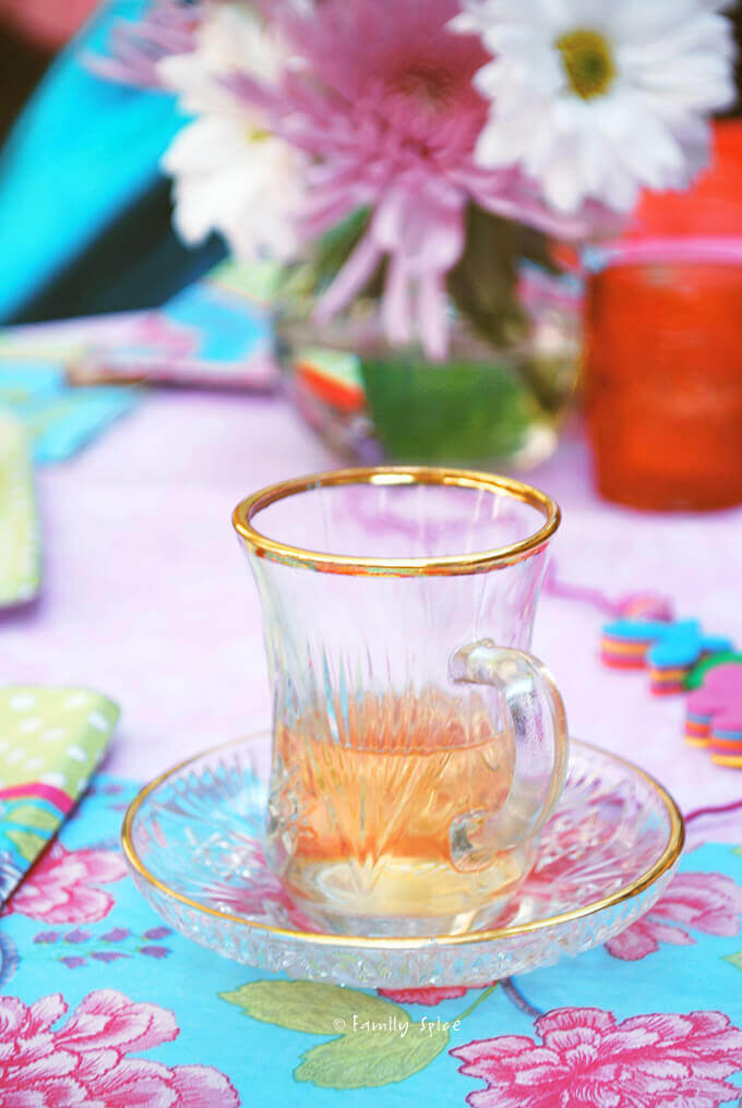 A Pretty Pink Tea Party by FamilySpice.com
