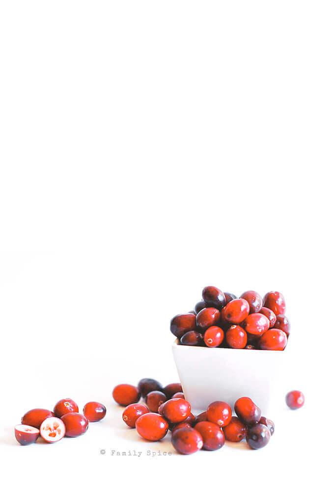 Fresh Cranberries by FamilySpice.com