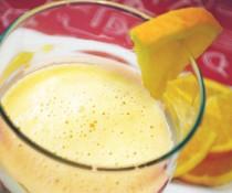 orange cream smoothie by familyspice.com