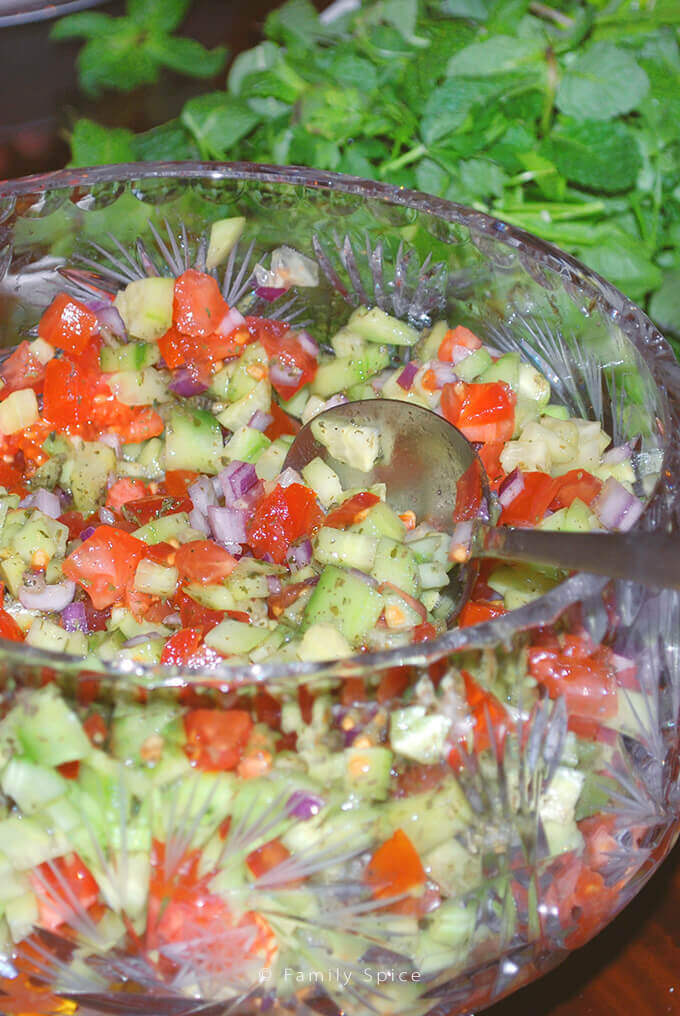 Salad Shirazi by Familyspice.com