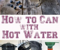 How To Can Using Boiling Water by FamilySpice.com