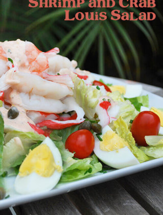 Shrimp and Crab Louis Salad