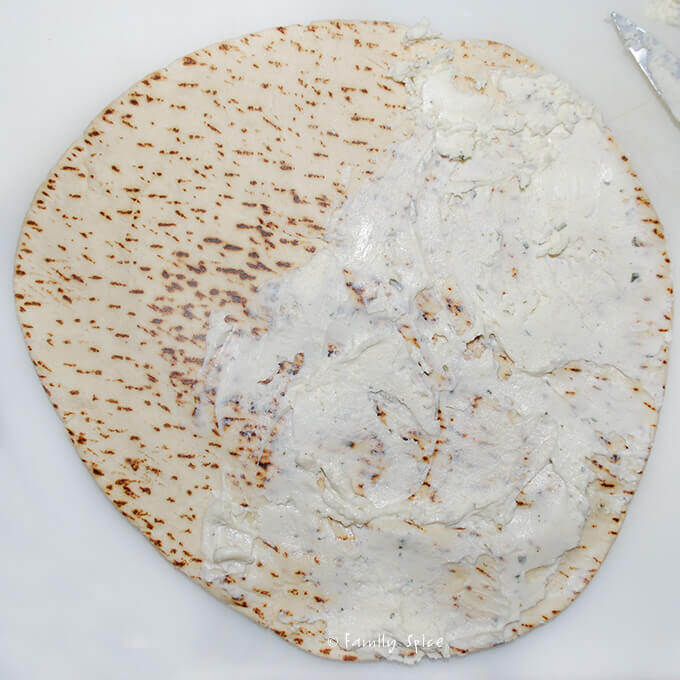 Making Mediterranean Mortadella Pitas by FamilySpice.com