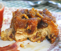 Croissant Bread Pudding by FamilySpice.com