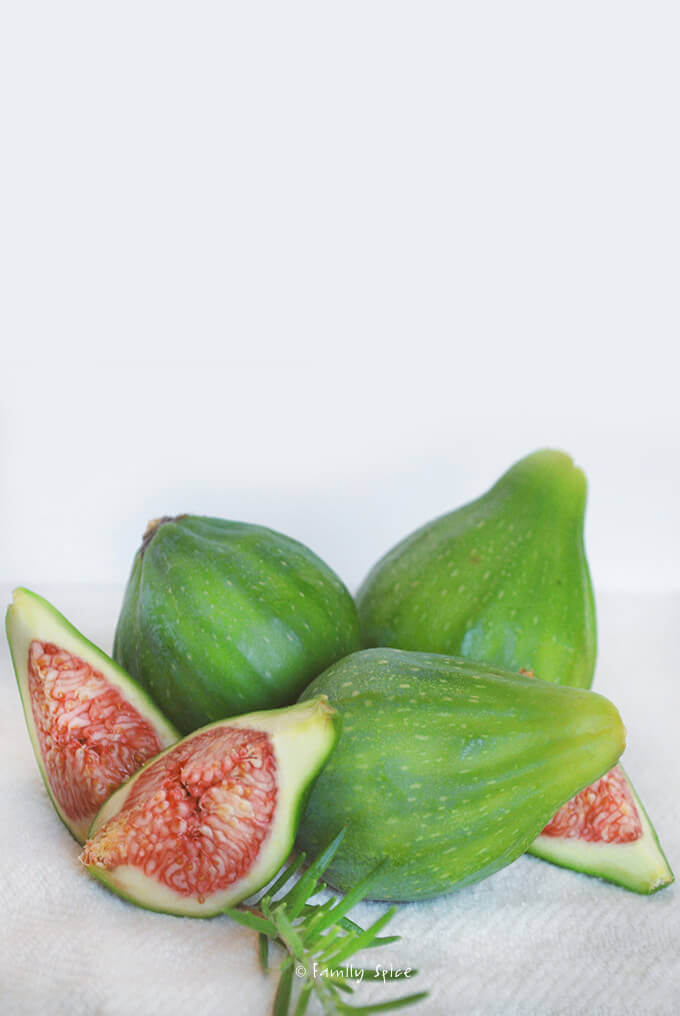 Fresh Green Figs by FamilySpice.com
