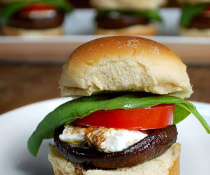 Balsamic Portabella Sliders by FamilySpice.com