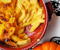 Pumpkin Macaroni and Cheese by FamilySpice.com