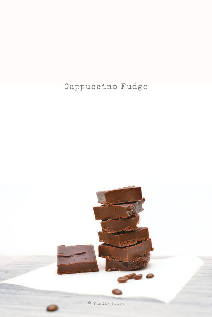 Cappuccino Fudge by FamilySpice.com