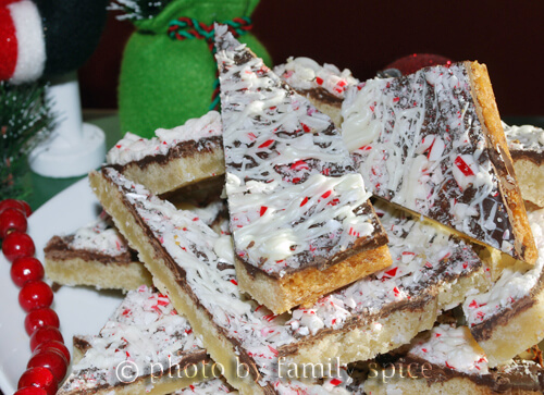 25 Days of Cookies: Chocolate Peppermint Bark Cookies