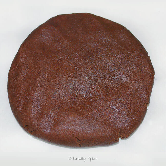 Dough for Chocolate Roll-Out Cookies by FamilySpice.com
