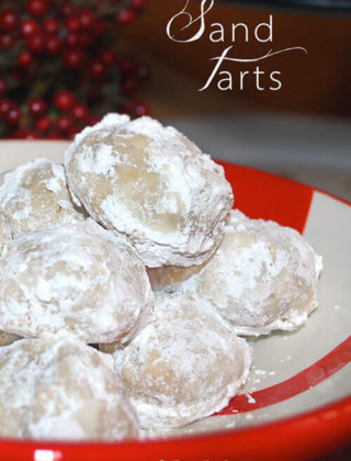 25 Days of Cookies: Sand Tarts