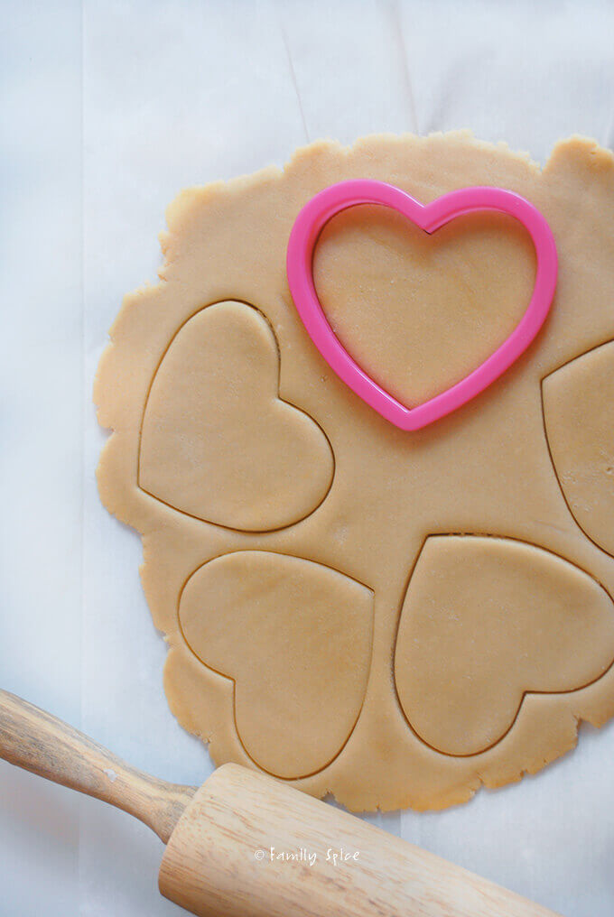 Making up Stained Glass Cookies by FamilySpice.com