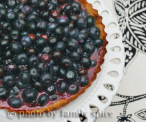 Blueberry Tart by FamilySpice.com