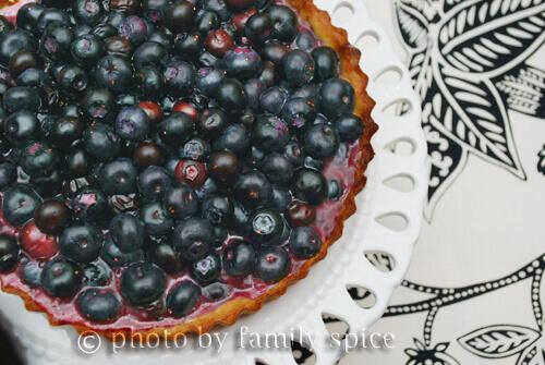 Blueberry Tart by FamilySpice.com